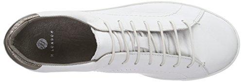 Racquet bianco Ginnastica Donna Scarpe Bianco Da London Hudson FwRzxA