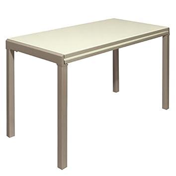 Mesa extensible cristal consola extensible cocina comedor moderno de ...
