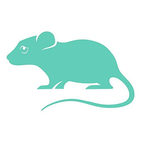 - Pet Mouse 5 inch Mint Indoor Outdoor Vinyl Decal