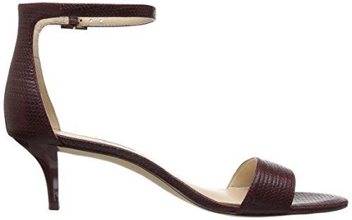 Wine Sandals Fashion Nine West Leisa Le Women's Le q4XqpUx8