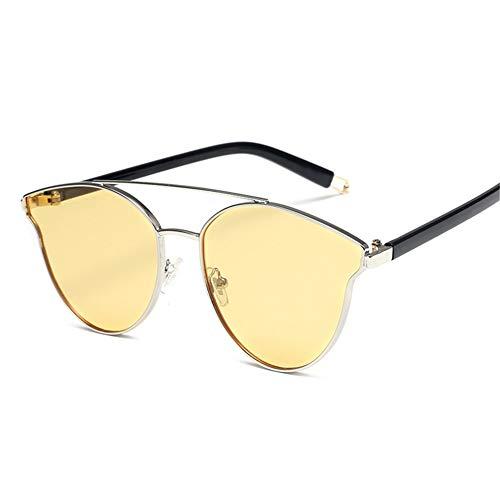 C de polarisées soleil lunettes lunettes NIFG mode élégante Ronde de soleil d'été nx0nqAPO