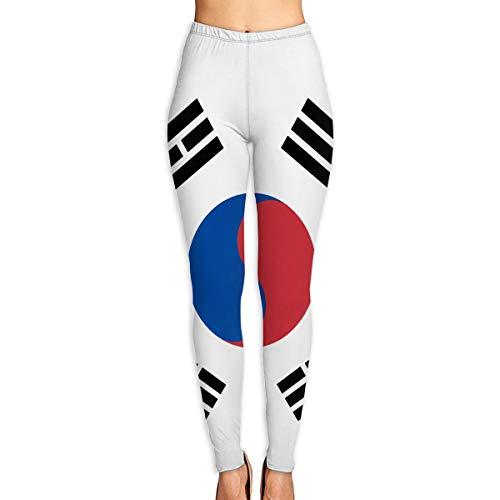 Wangx-4 Yoga Pants Flag of South Korea Fitness Power Flex Yoga Pants Leggings
