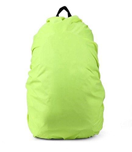 Cosanter hochwertig Qualitäts Camping Wandern Rucksack Wasserdichte Regenschutz für 80L Rucksack Vert