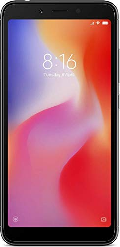Redmi 6A (Black, 2GB RAM, 16GB Storage)