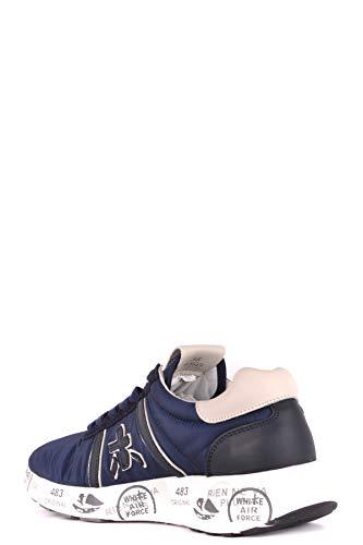Azul Ezbc031012 Cuero Mujer Zapatillas Premiata wx8BRfpq