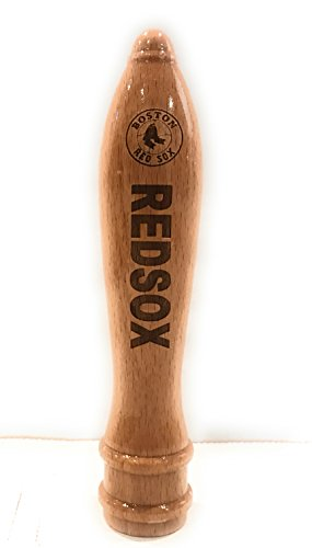 Boston Red Sox Engraved Pub Style Beer Tap Handle Natural