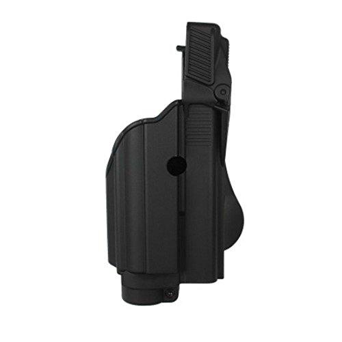 IMI Defense Tactical Roto Holster Paddle Light / Laser Glock 17,19,22,23,25,31 Gen 4 - Elite 4 4 Gen