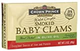 Crown Prince Clams Smoked in Olive Oil ( 12x3 OZ)