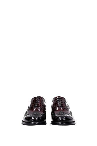 Mujer DE0001BLACKLIGHTBUR Negro Church's cordones Zapatos de EU zwtqzBF
