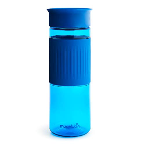 Munchkin Miracle 360 Tritan Spill Proof Water Bottle, Blue, 24 Oz