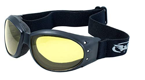 - Global Vision Eyewear Eliminator Goggles with Micro-Fiber Pouch, Yellow Tint Lens