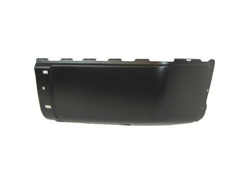2007-2013 Chevy Silverado (New Style) / 2007-2013 GMC Sierra (New Style) Rear Bumper Cap Powder Coating Black (Steel) Without Sensor Hole Rh Aftermarket Products