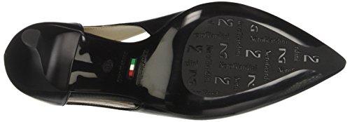 Nero Giardini P717402DE, Peep Toe Donna, Nero (100), 40 EU