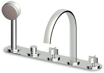 Zucchetti Isyfresh grifo para bañera 5 agujeros ZD5443