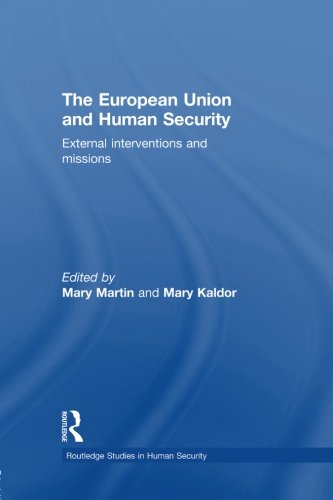 The European Union and Human Security (Routledge Studies in Human Security)