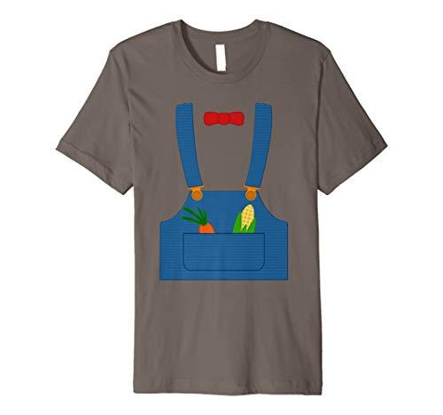 Halloween Farmer Overall Shirt | Simple Gardener Outfit -