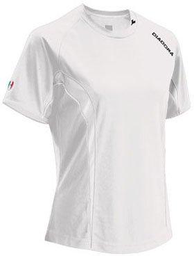 - Diadora Soccer Ermano Jersey Shirt, White, Medium
