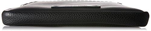 Calvin Klein Joah Flat Crossover - Borse a spalla Uomo, Nero (Black), 3x27x22 cm (B x H x T)