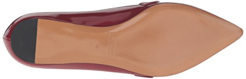 Marc Jacobs Womens Karlie Pointy Bouton Plat Rouge