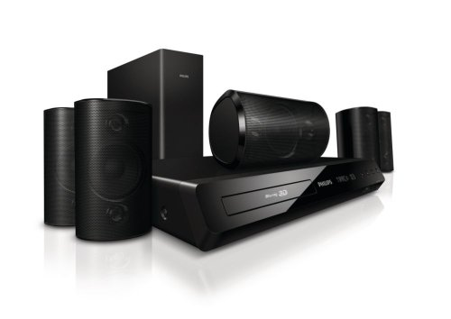 Philips HTS3564/F7 3D Blu-Ray 5.1 Home Theatre System (Philips Home Theater System)