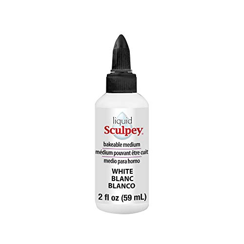 Sculpey Polyform Liquid Clay 2oz White