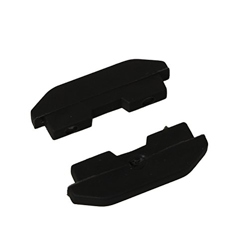 eJiasu reemplazo almohadillas de goma almohadillas para PS4 Game Console CUH-1200 (1 par) por eJiasu