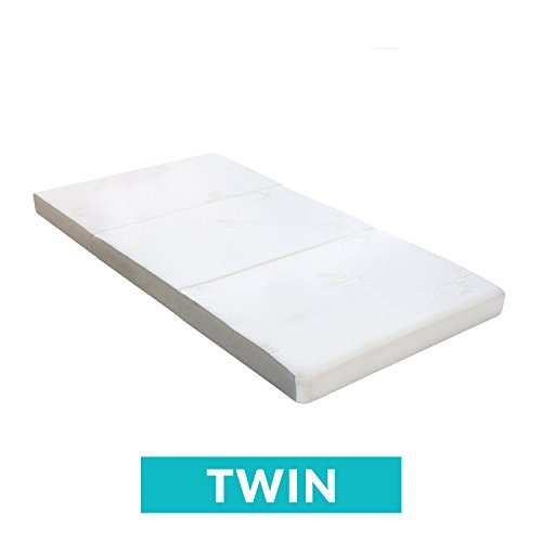 Milliard Tri Folding MatMilliard Tri Folding Mattress | Ultra Soft Washable Cover | Twin {78' x 38' x 4'}