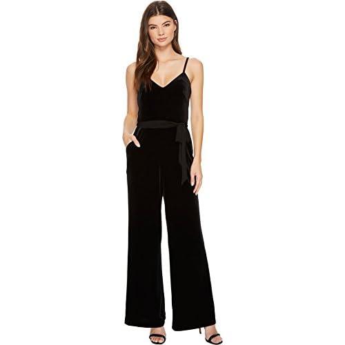 Calvin Klein Womens Velvet Jumpsuit Cd7v19da 60off Smsmd