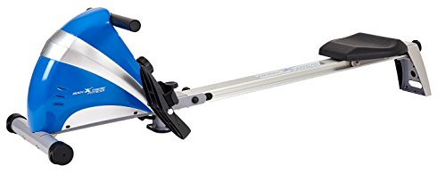 Body Xtreme Fitness ~ Home Rowing Machine Body Sculpture 1500-S, Home Exercise Equipment, Fitness, Lose Weight, Cardio, Arm workout (Silver/Blue)