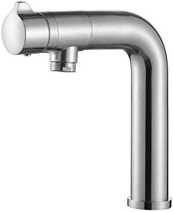 ZT-TTHG バスルームのシンクは、スロット付き浴室の洗面台のシンクホットコールドタップミキサー流域の真鍮シンクミキサータップ非震とう浴室蛇口温水と冷水の蛇口をタップ
