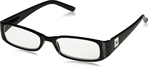 NFL Kansas City Chiefs Reading +1.75 Glasses, Black ()