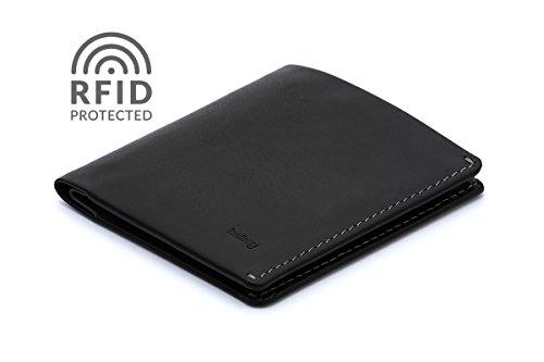 Bellroy Leather Note Sleeve Wallet Black   Rfid