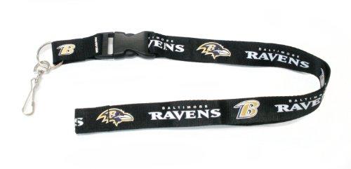 NFL Baltimore Ravens Lanyard, Black