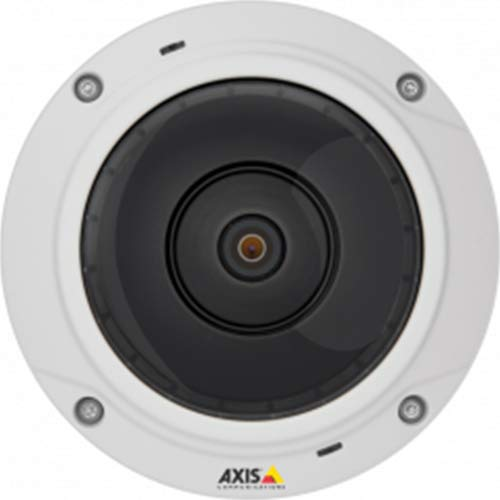 Axis Communications 0548-001 M3037-PVE, Network Surveillance Camera, White Axis Communications Web Cameras