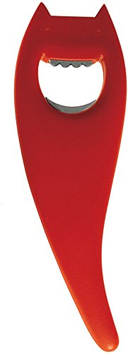 Red, A di Alessi Diabolix Bottle Opener ABC01 R
