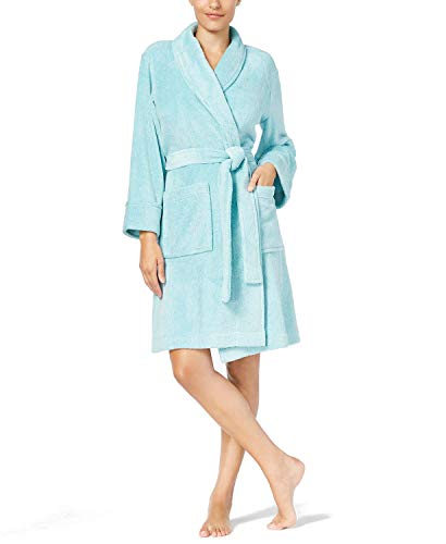 Charter Club Super Soft Wrap Robe, Heather Green XXX-Large