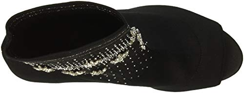 Fabric Mischka Ankle Badgley Boot Black Vivi Women's ZfxwqR