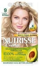 Garnier Nutrisse crema 9 luz rubio: Amazon.es: Salud y ...