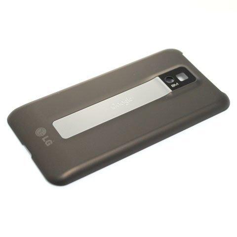 Original OEM Genuine Brown Rear Back Battery Cover Door Backplate For LG T-Mobile P999 G2X Optimus 2X (Lg Optimus 2x P990)