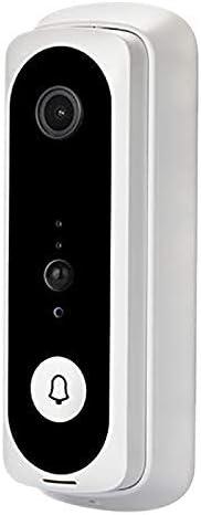 V20スマートWifiビデオドアベル、チャイムナイトビジョン付きカメラビジュアルインターホンIPドアベルワイヤレスホームセキュリティカメラ