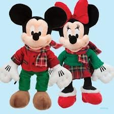 Christmas Minnie Mouse Plush.Amazon Com Minnie Mouse 2012 Disey Store Exclusive 16 Inch