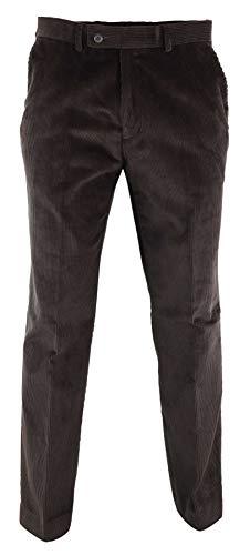 Marrone Truclothing In Blinders com Peaky Vintage Pantaloni Da Velluto Scuro Anni 20 Classici Uomo ZrZax4g