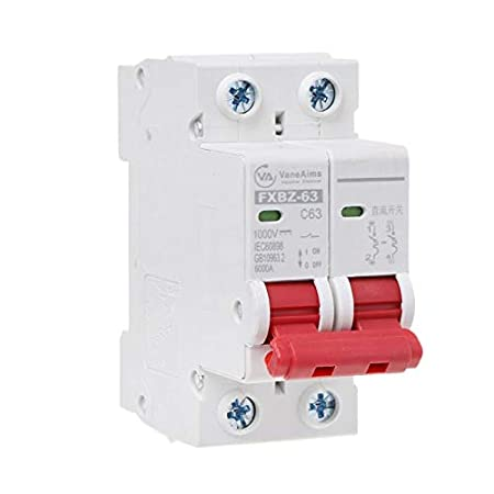 1pc DC1000V 2P DC Circuit Breaker -10A YoungerY