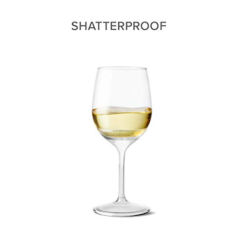 TOSSWARE VS01020047 14oz Stemmed Vino-Recyclable Wine Plastic Cup Detachable Shatterproof, and Bpa-Free Glasses, Set of 48, Clear by TOSSWARE (Image #4)