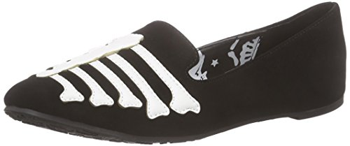 Ijzeren Vuist Womens Wishbone Loafer Instappers Loafer Zwart
