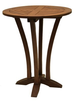Charming Outdoor Wooden Bar Table, Easily Maintained, Dense, Durable And  Long Lasting Eucalyptus