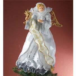 Possible Dreams - Silver Angel Treetopper