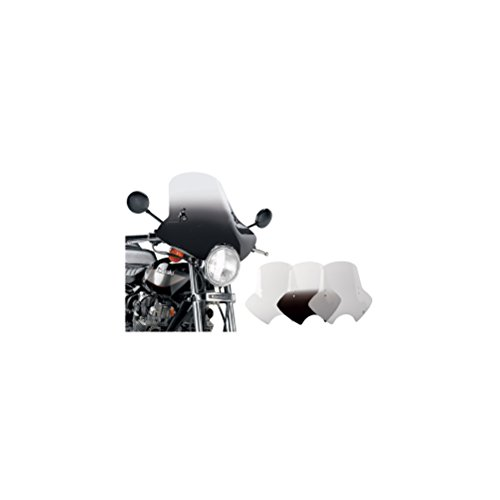 V-star 1300 Handlebars - Memphis Shades Demon Windshield With Handlebar Mounting Kit (GRADIENT BLACK)