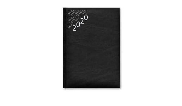 Agenda Anual PRAXTON Basic, 4º 1D/P 2020 (NEGRO): Amazon.es ...
