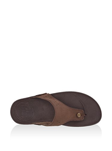 46 Hombre Trakk Fitflop Para Sandalias Marrón chocolate Talla q0xxPfw